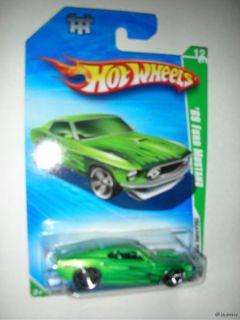 69 Ford Mustang Hot Wheels Treasure Hunts R7445 56 240