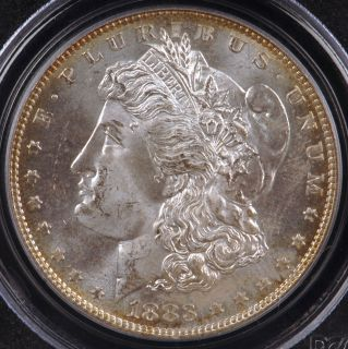 1883 Morgan Silver Dollar PCGS MS64