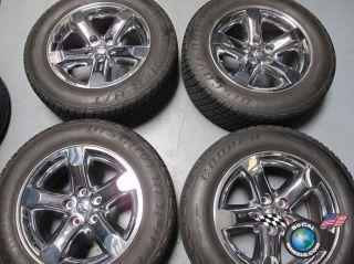 RAM 1500 Factory Chrome Clad 20 Wheels Tires Durango Rims 2267
