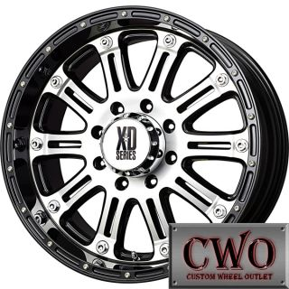 18 Black XD Series Hoss Wheels Rims 5x150 5 Lug Toyota Tundra