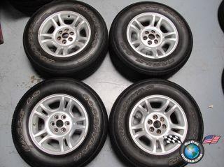 Dodge Durango Factory 16 Wheels Tires OEM Rims 2133 255/65/16 Goodyear