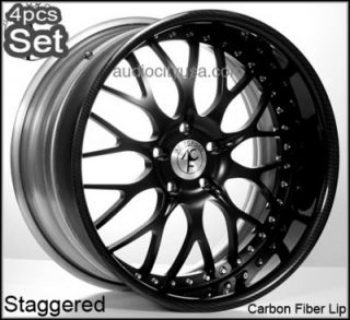 20 for Mercedes Benz Wheels Rims Staggered C CL s E Class Carbon
