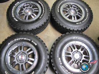 Tundra TRD Rock Warrior Factory 17 Wheels Tires Rims BFG 69574