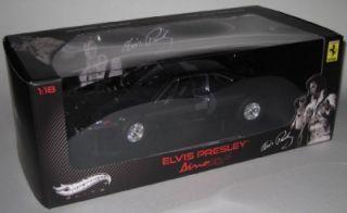 Hot Wheels Elite Elvis Presley Ferrari Dino 308 GT4 1 18 Scale 1 of