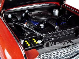 Cadillac Series 62 Convertible Light Brown Metallic 1 18 by Autoart