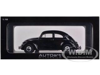 1955 Volkswagen Beetle Kafer Limousine Black 1 18 by Autoart 79776
