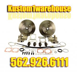 Rear Disc Brake Conversion Kit for VW Volkswagen w Emergency Brake Bug