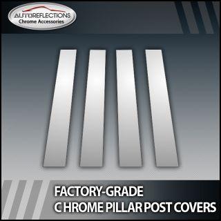 09 12 Dodge CEW Cab 4pc Chrome Pillar Post Covers