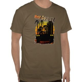 West Coast California T Shirt
