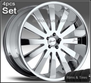 22 Giovanna Wheels and Tires Land Range Rover Rims