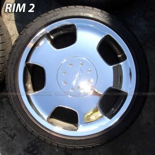 18 inch Used Rims Tire Lorinser Rims and Used Tires
