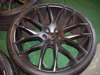 22 Giovanna Kilis Wheels Matte Black Porsche Panamera 4S s Turbo