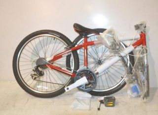 Giant Boulder Front Suspension Mountain Bike 2012 Red
