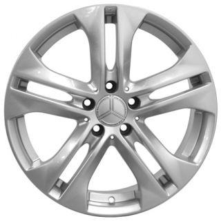 18 E300 Silver Wheels Fit Mercedes Benz 300 350 450 500 550 C E GLK