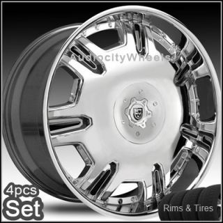 28 Rims and Tires Wheels Chevy Ford Lexani Escalade