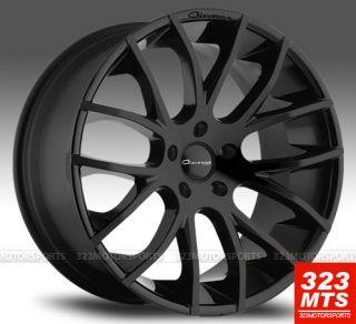 GIOVANNA Wheels KILISINFINITI G35 G37 NISSAN 350Z 370Z MATTE BLACK RIM