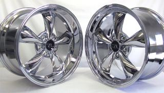 ® Bullitt Wheels 18x9 18x10 inch 2005 2012 18 Rims Chrome