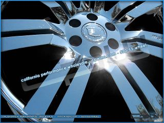 Cadillac Escalade 24 Wheels Chrome Plated Rims ESV Ext New