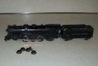 Vintage New York Central 333 Steam Engine w Coal Tender Trains