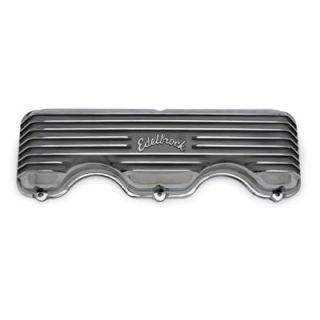Classic Cast Aluminum Valve Covers 4140 Chevy W Block 348 409 Polished