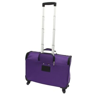 New US Traveler 4 Wheel Spinner Rolling Garment Bag Luggage