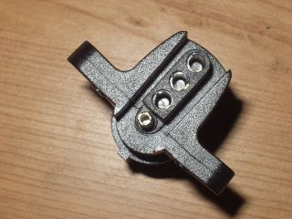 Trailer Plug Cord Wire Adapter 6 Round to 4 Flat