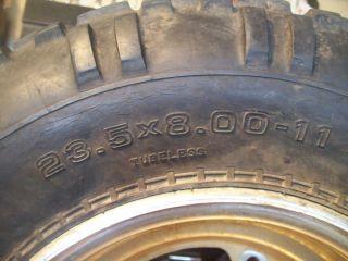 ATC 200x 200 x Pro Vector H Trak Front Tire Wheel Rim 23 5 8 11
