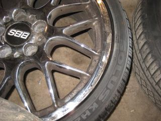 BBS Replica 18 Wheel Set w/ Tires 92 05 E36 E46 318i 325i 325is 328i