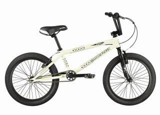 New 20 BMX Bicycle Bike 3 Piece Alloy Crank 25T Chain White