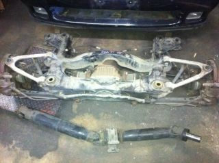JDM Supra MK3 Complet Front Clip with Rear Subframe Drive Shaft