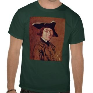 Self Portrait By Thomas Gainsborough Shirts