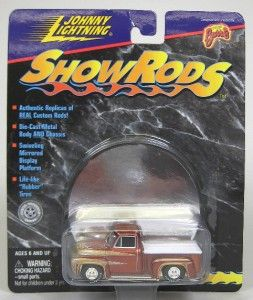 Show Rods George Barris Wild Kat 1953 Ford Pickup Johnny Lightning