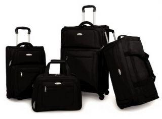 New Black 29 Samsonite Suitcase Luggage Spinner Wheels