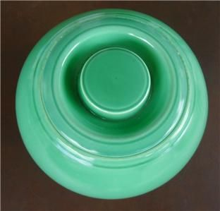 Fiesta Cookie Jar Kitchen Kraft USA Green Vintage Nice
