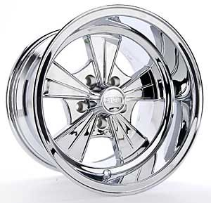 Detroit Wheels 620 5165C Cragar Racer Wheel   Chrome Size 15 x 10