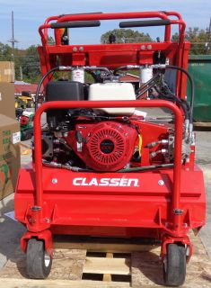 New 25 Commercial Classen Model SA 25 Honda GX390 Engine Stand  On