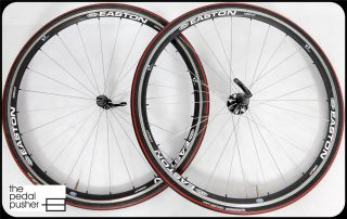 Easton Velomax Circuit Road Wheelset Wheels Black White Shimano SRAM