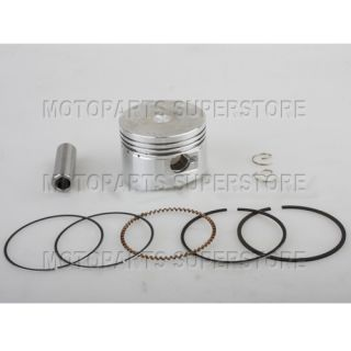 110cc Engine 52mm Piston Rings Piston Pin Dirt Bikes Pit Bike Go Karts