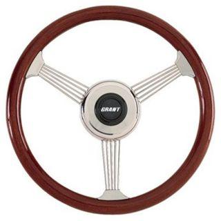 New Grant Classic Banjo Steering Wheel Mahogany 14 3 4
