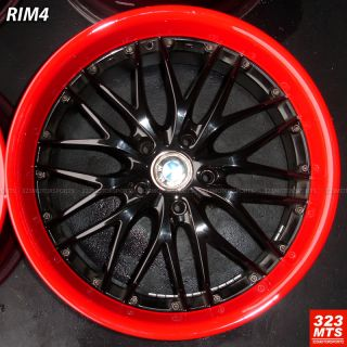 USED BMW E90 E92 E93 325 328 330 335 MRR GT1 CUSTOM PAINT WHEELS RIMS