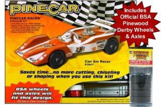 Pinewood Derby Car Kit Official BSA Pinewood Derby Wheels 63964