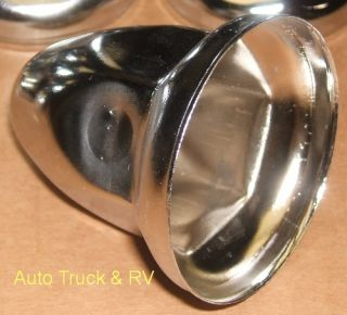 Lug Nut Covers 33 mm Flanged Semi Truck Wheel Rim Dress Up Kit