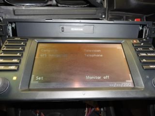 BMW E39 16 9 Wide Screen TV Satellite Navigation SAT Nav 65 52 6 913