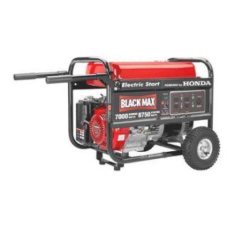 Black Max 389cc Honda Engine 7 000W Generator BM10700