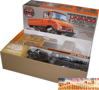 Tamiya 1 10 R C CR 01 Mercedes Benz Unimog 406 Series U900