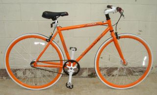 Fixie Fixed Gear Racing Bicycle Bike RD 269 53cm Orange