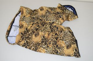 Leopard Print Cycling Shorts Size XXL 2X Large New