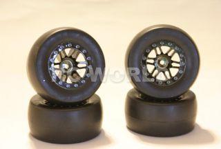 RC 1 10 Short Course Wheel Tires Rims Desert Truck Slicks