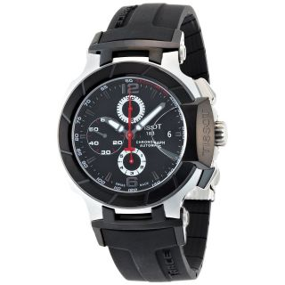 Mens Stainless Steel Case Chronograph Watch T048 427 27 057 00