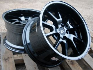 FR500 Wheels 17x10 5 Wheels 2 Wheels Rims 17 inch Deep Dish